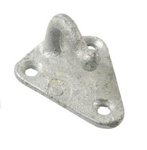 metalen haak voor aanhangwagens voor opspannen van dekkleden en aanhangwagennetten