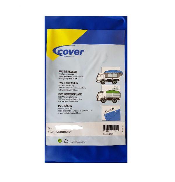 PVC containerkleed blauw Cover