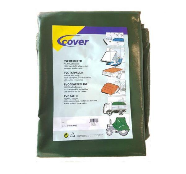 PVC dekkleed groen 600 gr/m2