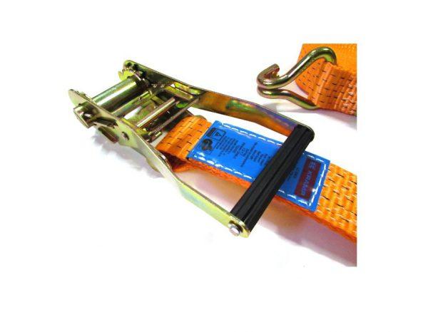 Hendel van een ratel spanband