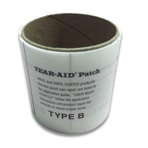 Tear-Aid rol type B reparatiepleister voor PVC en vinyl