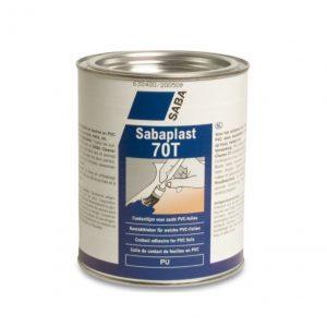 Sabacontact 70T 1 liter voor het lijmen van zacht PVC folie