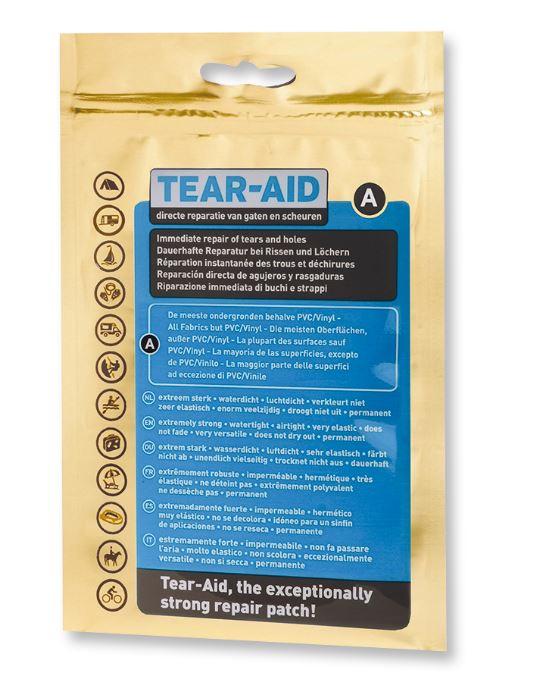 Tear-Aid kit type A reparatiepleister voor vele materialen