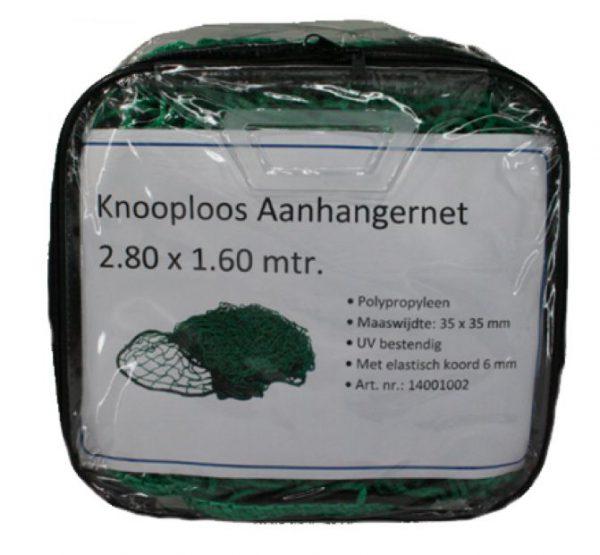 Aanhangernet groen 2.8x1.6