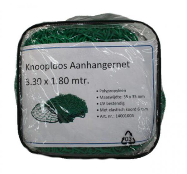 Aanhangernet groen 3.3x1.8