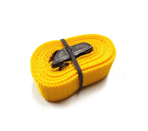 Sjorband fasty 150 cm geel type 122