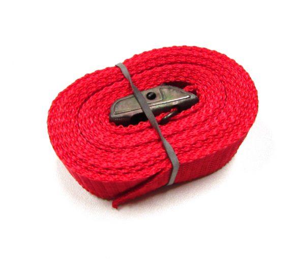 Sjorband fasty 250 cm rood type 124