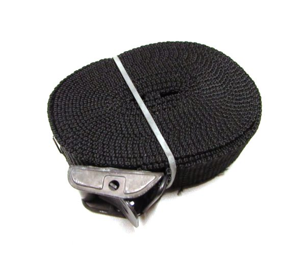 Sjorband fasty 350 cm zwart type 125