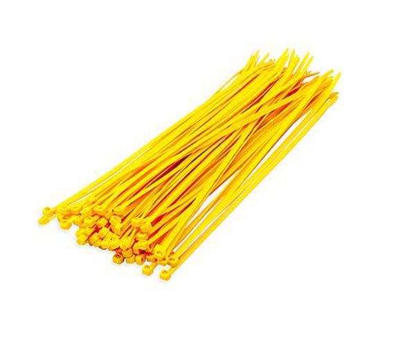 Tie wraps geel