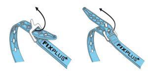 fixplus strap gebruiken