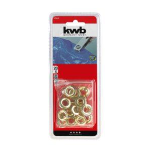 Zeilringen 10mm messing 20 stuks KWB 929810_2
