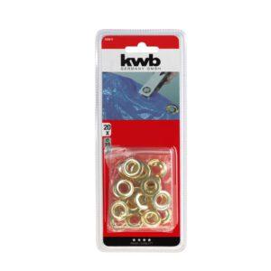 Zeilringen messing 16mm 20 stuks KWB 929816_2